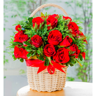 send roses in basket to japan
