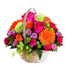 send flower basket to vietnam