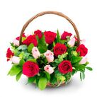 send mothers day flowers basket to vietnam