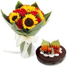 send flowers with cakes in vietnam