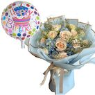 buy birthday balloon with flowers in vietnam