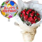 send birthday balloon with flowers in vietnam