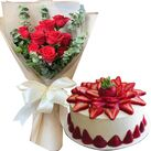 buy birthday cake with flowers in vietnam