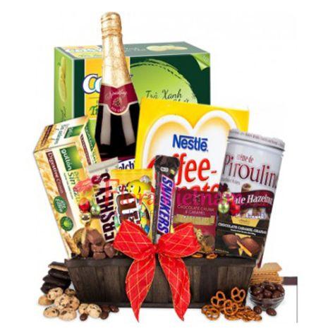 send christmas gifts basket to vietnam