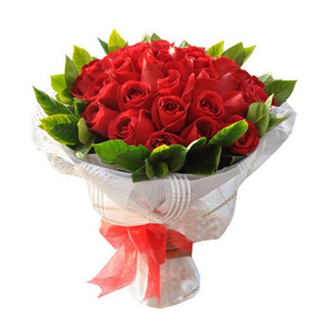red roses 50 stems with baby's breath delivery to vietnam