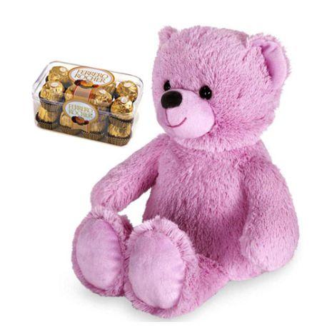 send teddy bear and ferrero chocolate to vietnam