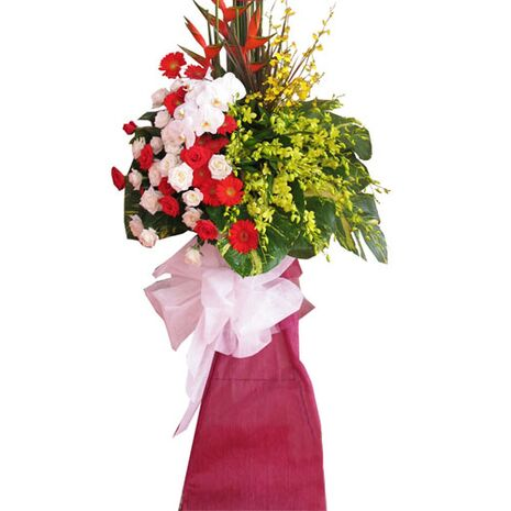 send grand opening flower arrangement to vietnam