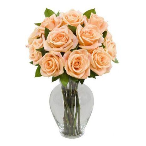 one dozen orange roses to vietnam