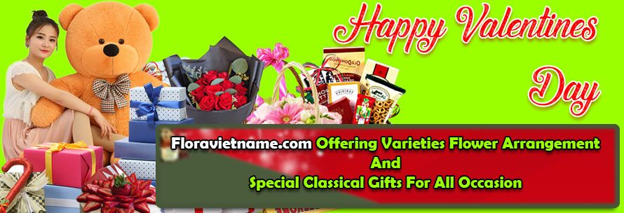 send valentines day flower and gifts to vietnam